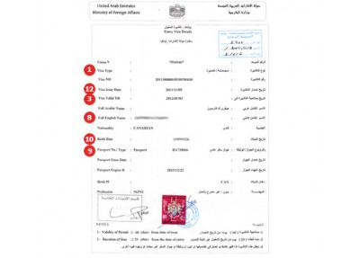 United Arab Emirates Visa